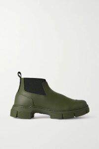 Adam Lippes - Silk-taffeta Midi Skirt - Bright yellow