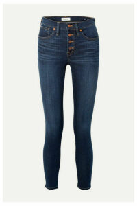 Madewell - Mid-rise Skinny Jeans - Dark denim