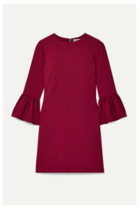 Alice + Olivia - Coley Crepe Mini Dress - Claret