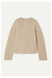 Totême - Biella Oversized Knitted Sweater - Cream