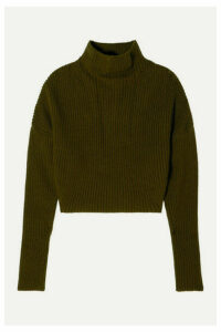 Petar Petrov - Ribbed Cashmere Sweater - Green