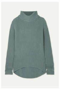 Petar Petrov - Oversized Cashmere Turtleneck Sweater - Gray