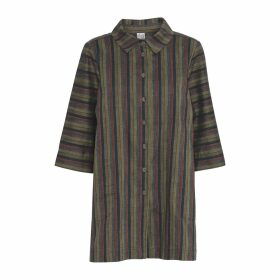 McVERDI - Long Multi-Striped Shirt