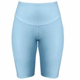 McVERDI - Oversize Corduroy Shirt In Blue