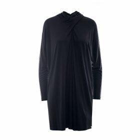 Nissa - Sleeve Transparent Insert Casual Dress