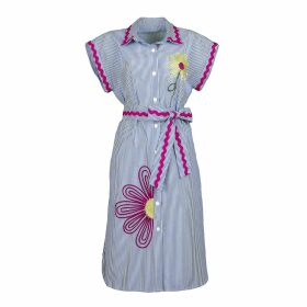 PHOEBE GRACE - Peggy Wide Leg Palazzo Trouser in Black Poppy Print