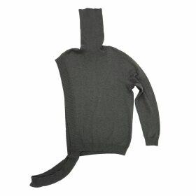 Petja Zorec - Grey Asymmetrical Sweater