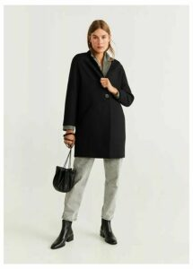 Texturised unstructured coat