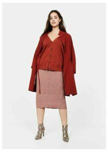 Button knit cardigan