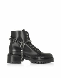 Balmain Designer Shoes, Black Ranger Muse Boots