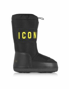 DSquared2 Designer Shoes, Icon Nylon Boots