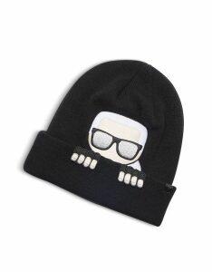 Karl Lagerfeld Designer Women's Hats, K/Ikonik Beanie