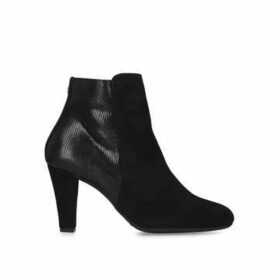 Carvela Comfort Rosie - Black Block Heel Ankle Boots
