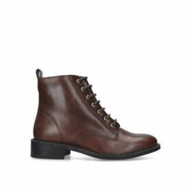 Carvela Spike - Brown Lace Up Ankle Boots