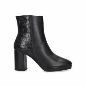 Carvela Tiptoe - Black Block Heel Ankle Boots