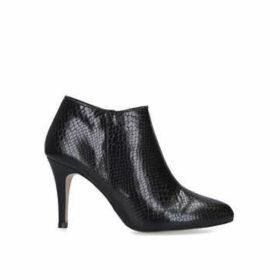 Carvela Serene - Black Snake Print Ankle Boots
