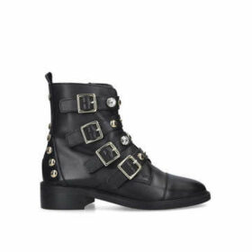 Carvela Saucy - Black Studded Biker Boots