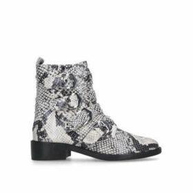 Carvela Scant - Snake Print Biker Boots
