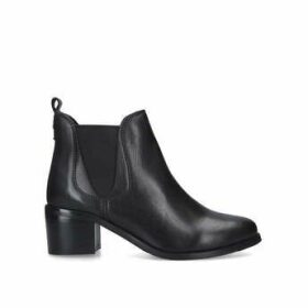 Carvela Comfort Ronald - Black Block Heel Ankle Boots