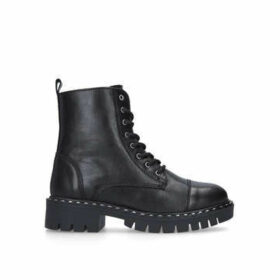 Aldo Gwemma - Black Lace Up Biker Boots