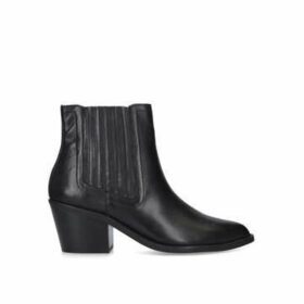 Kurt Geiger London Sylvie - Black Cuban Heel Ankle Boots