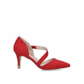Carvela Kyto - Red Suedette Court Heels