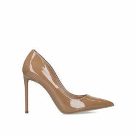 Steve Madden Vala - Tan Stiletto Heel Court Shoes