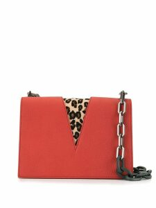 The Volon V Chain shoulder bag - Red