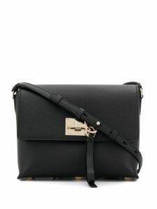Salvatore Ferragamo flap Studio bag - Black