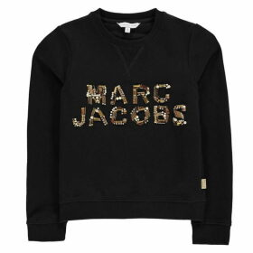 Marc Jacobs Sequin Logo Sweater