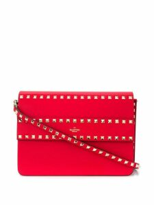 Valentino Valentino Garavani Rockstud shoulder bag - Red