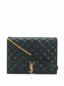 Saint Laurent Becky large quilted shoulder bag - Black