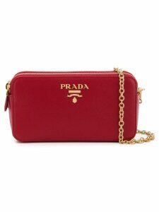 Prada Diagramme shoulder bag - Red