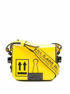 Off-White baby binder clip bag - Yellow