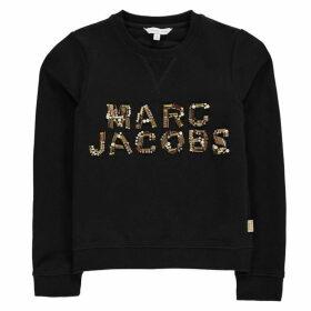 Marc Jacobs Sequin Logo Sweater