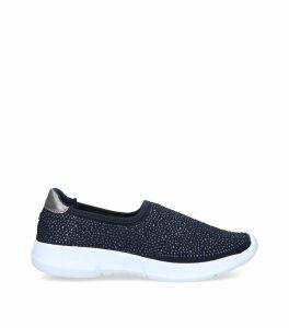 Embellished Carla Slip-On Sneakers