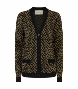 Lurex Knitted Cardigan