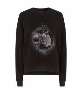 Ethie Lo Rose Print Sweatshirt