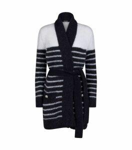 Belted Stripe Cardigan