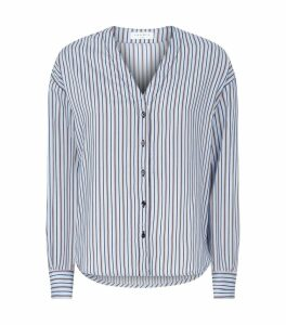 Poplin Stripe Blouse