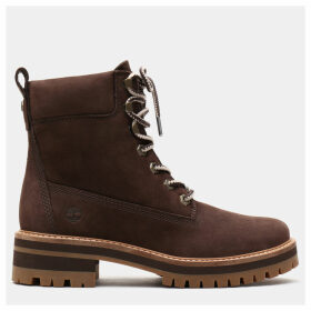 Timberland Courmayeur Valley 6 Inch Boot For Women In Dark Brown Dark Brown, Size 8