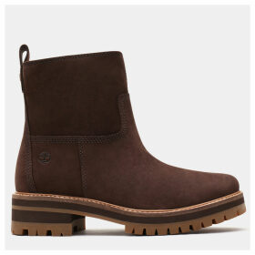 Timberland Courmayeur Valley Warm Boot For Women In Brown Brown, Size 6.5