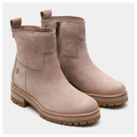 Timberland Courmayeur Valley Warm Boot For Women In Grey Grey, Size 8