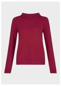 Audrey Sweater Raspberry XL