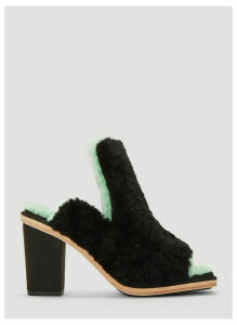 Eckhaus Latta X Ugg Open Toe Mules in Black size US - 09
