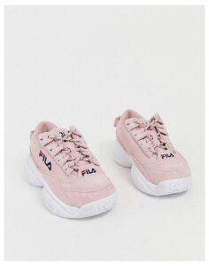 Fila Provenance trainers in pink