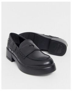 Love Moschino chunky loafers-Black