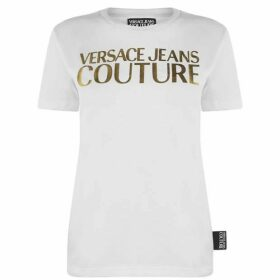 Versace Jeans Couture Basic Foil Logo T Shirt
