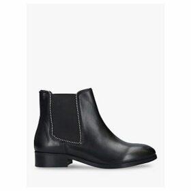 Carvela Sphere Leather Stud Detail Boots, Black