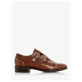 Dune Gryffin Buckle Up Stud Detail Brogues